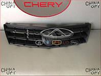 Решетка радиатора (2010-, без хром-накладок) Geely MK2 [1.5, 2010г.-] 1018006116 Китай [оригинал]