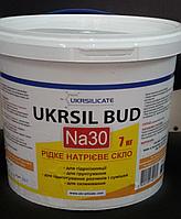 Жидкое стекло натриевое UKRSIL BUD Na 30. 1 кг