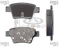 Колодки тормозные задние, дисковые (ЕС7) Emgrand EC7RV [1.5,HB] 1064001725 Kamoka [Корея]