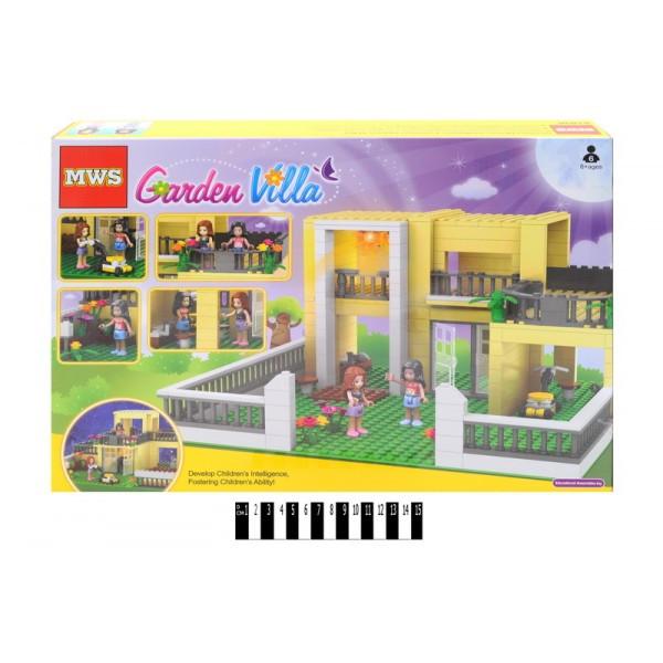 Конструктор Garden Villa 81898, 393 дет