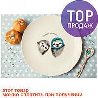 Тарелка Ленивцы / Декорации для дома