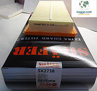 SHÄFER sx2738 воздушный фильтр для CITROEN Nemo (08-). FIAT: Fiorino II (08-), Qubo (08-). PEUGEOT Bipper.