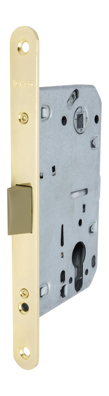 Замок врезной Paladii 410С PVC-1 PB Kevlar  желтый
