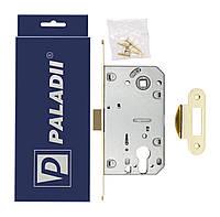 Замок врезной Paladii 410С PVC-1 Kevlar PB желтый