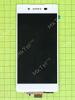 Дисплей Sony Xperia Z3 plus с сенсором Копия АА Белый