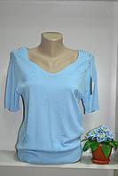Летняя женская футболка цвет на выбор, фото 1