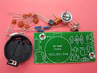 Беспроводный микрофон FM диапазон 88-108 МГц, 3 В, набор для самостоятельной сборки