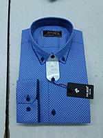 Мужская рубашка стрейч-коттон Palmen