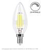 Диммируемая светодиодная лампа Filament 4Вт Е14 2700K