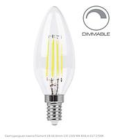 Диммируемая светодиодная лампа Filament 4Вт Е14 2700K, фото 1