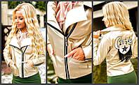 Красивая стильная куртка из экокожи 502710