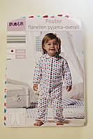 Пижама теплая фланелевая для девочки
