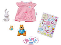 Одежда с наклейками для куклы Baby Born Zapf Creation (819616)***