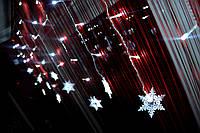 """Новогодняя гирлянда на окно """"Снежный этюд"""", фото 1"""