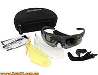 ESS Crossbow 3LS - солнцезащитные очки (3 линзы в комплекте, с диоптриями, вело-очки, очки для охоты)
