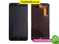 Модуль Meizu M1 Note (дисплей + тачскрин), чёрный копия