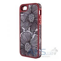 Чехол Speck FabShell Apple iPhone 5, iPhone 5S, iPhone SE FreshBloom Coral Pink/Black (SPK-A1596)