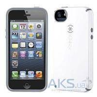 Чехол Speck CandyShell Apple iPhone 5, iPhone 5S, iPhone SE White/Charcoal Mini (SPK-A1560)
