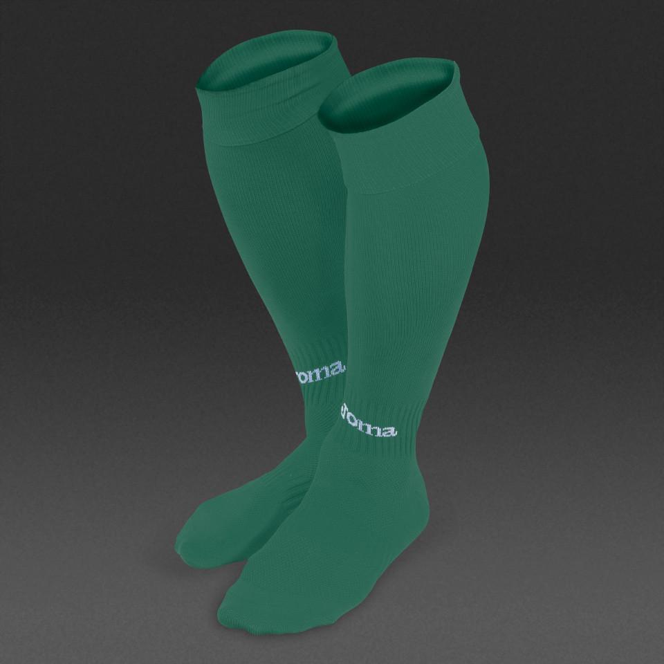 Гетры футбольные Joma Classic II  (зеленые)