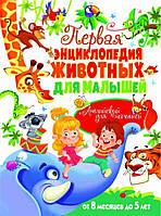 Первая энциклопедия животных для малышей. От 8 месяцев до 5 лет