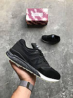 Мужские кроссовки New Balance 997 Black. Живое фото. Топ качество (нью бэланс)