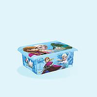 Коробка пластиковая Frozen для игрушек 10 литров Keeeper