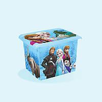 Ящик Frozen 20,5 литров под игрушки от Keeeper