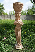 """Скульптура """"Ева"""" 103 см (кремовый мрамор)"""