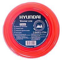 Леска для триммеров и мотокос HYUNDAI TL 15-2.0