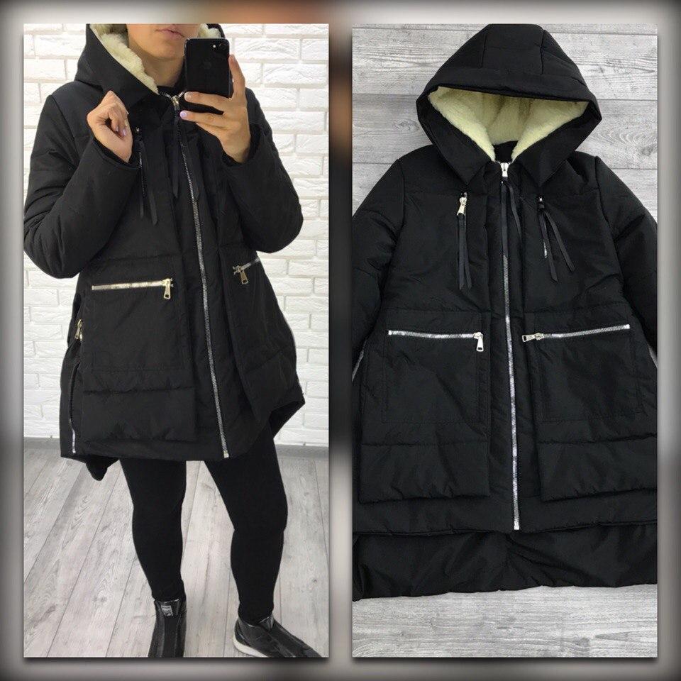 Женская куртка трансформер батал