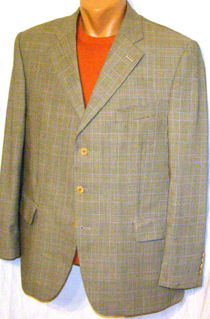 Пиджак летний шерстяной sanRemo (54)