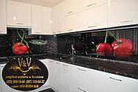 Фартук для кухни из стекла,скинали (стеклянный фартук для кухни),декоративное стекло с фотопечатью