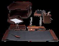Деловой подарочный настольный набор Bestar (10 предметов) темная вишня New 2017