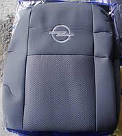 Автомобильные чехлы на сидения Opel Movano (1+2) с 2010 г