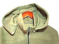 Флисовая кофта с отстегивающимся капюшоном