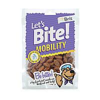 Brit Lets Bite Mobility лакомство для собак с курицей для поддержки мобильности, 150г