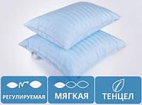 Подушка антиаллергенная низкая Valentino Tencel