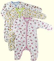 Комбинезон человечек для новорожденных 56, 62 см