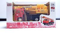 Машинка металлическая грузовик кран