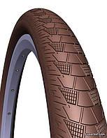 "Покрышка 26"" х 2,0"" (52 - 559) Mitas Cityhopper V99 APS RS, коричневая"