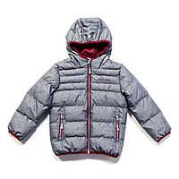 Куртка демисезонная для мальчика 1-16 лет, размеры 80-152 ТМ Nanö Mid Grey Mix F17 M 1251