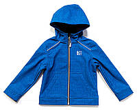 Куртка на флисе для мальчика 4-16 лет, размеры 104-152 ТМ Nanö Blue Jay Mix F17 M 1400