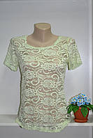 Гипюровая женская футболка, фото 1
