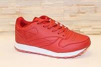 Кроссовки женские красные Т822 р 38