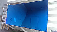 Лист нержавеющий с напылением оксидом титана под синий 1000х2000х0,4 мм, Черкассы