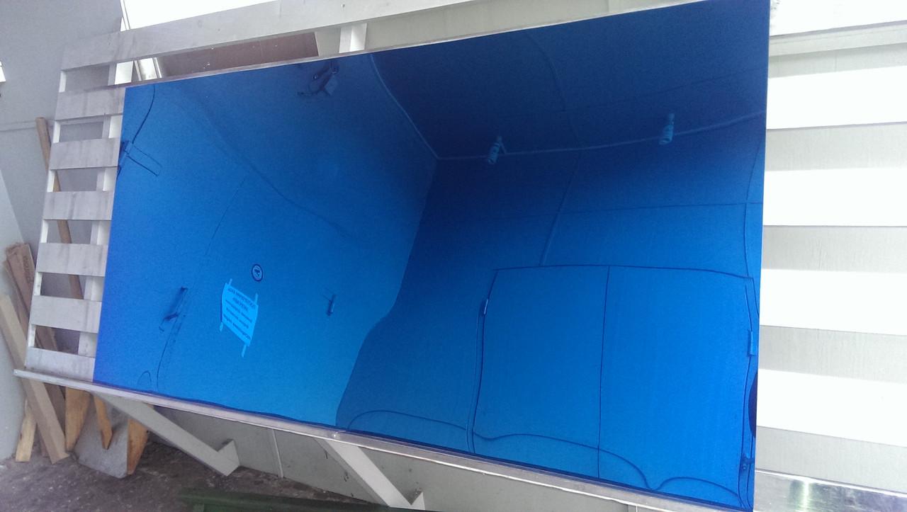 Лист нержавеющий с напылением оксидом титана под синий 1000х2000х0,4 мм, Черкассы - ООО НПФ «ЛАД» в Черкассах