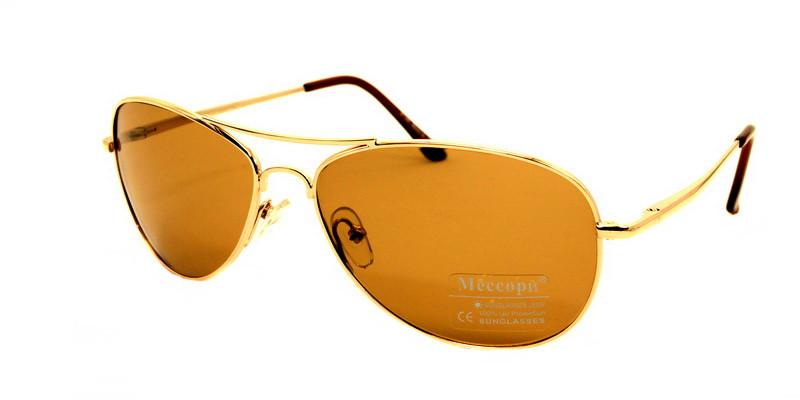 Молодежные солнцезащитные очки авиаторы с оранжевыми линзами МЕССОРИ -  Оригинальные подарки в интернет-магазине Панда c287ebc6ca3