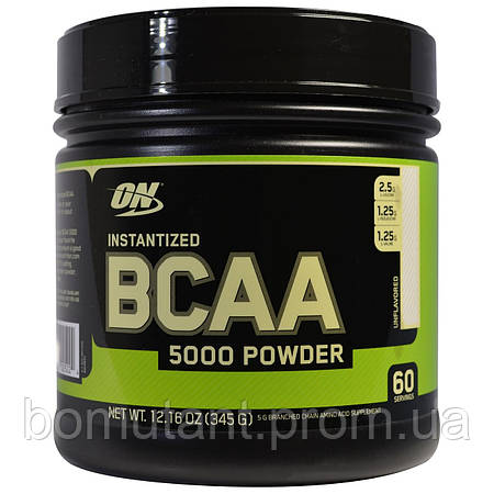 BCAA 5000 powder 345 гр Optimum Nutrition