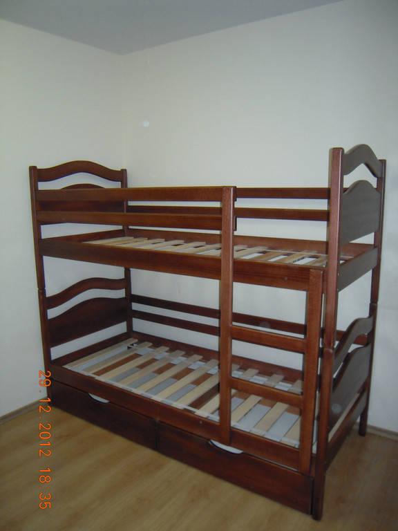 Ліжко двохярусне Вінні Пух