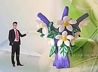 Пневмоконструкция надувные цветы